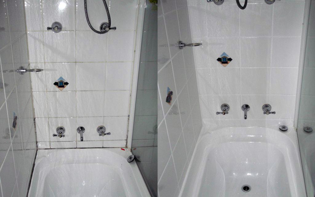 shower restoration before after